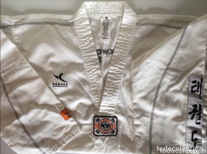 Coleccionismo deportivo: Conjunto completo de Kimono taekwondo - Foto 2 - 173853357