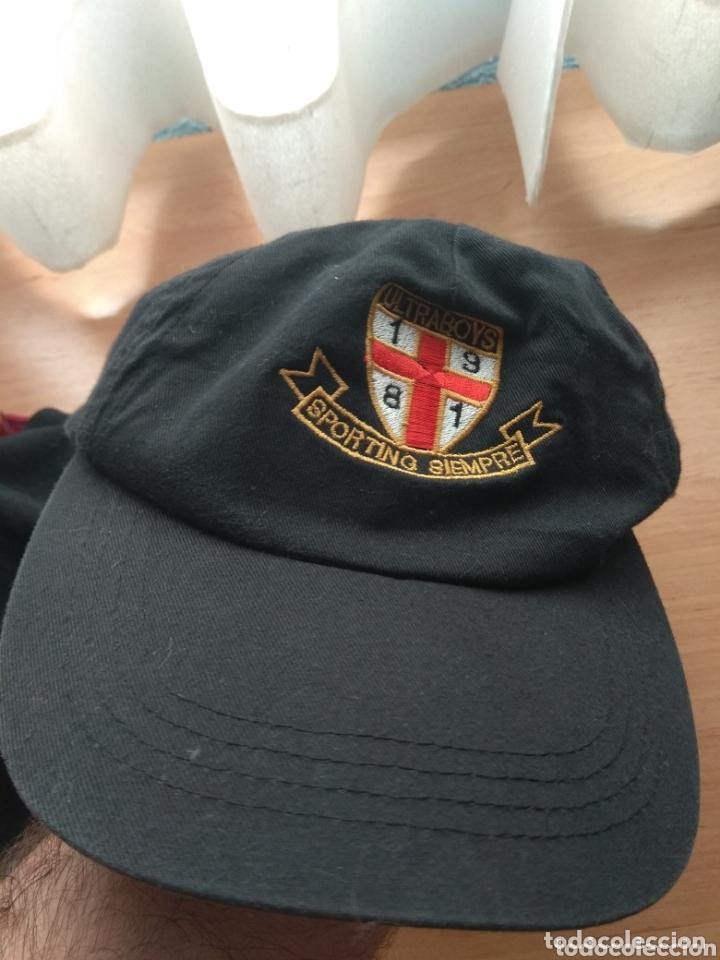 Coleccionismo deportivo: Gorra Ultra Boys - Sporting de Gijón - - Foto 2 - 174107693