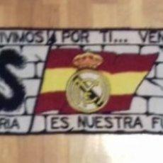 Coleccionismo deportivo: ULTRAS SUR REAL MADRID BUFANDA SCIARPA SCHAL ULTRAS HOOLIGANS. Lote 185726603