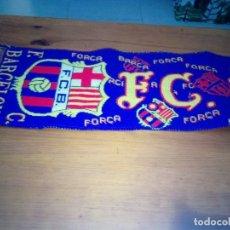 Coleccionismo deportivo: BUFANDA F.C . BARCELONA. . Lote 175477614