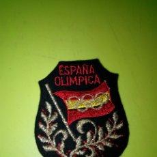 Coleccionismo deportivo: EMBLEMA PARCHE DE TELA ESPAÑA OLIMPICA. C8CR. Lote 175970322