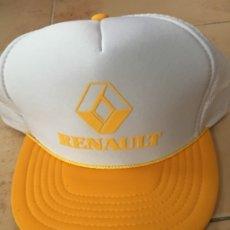 Coleccionismo deportivo: GORRA RENAULT AÑOS 90. Lote 176178624