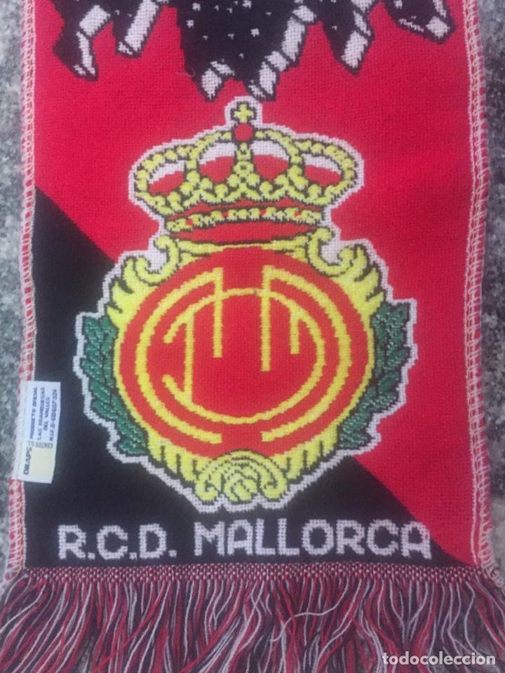 Coleccionismo deportivo: Bufanda final re copa de Europa Mallorca-Chelsea - Foto 4 - 176435717
