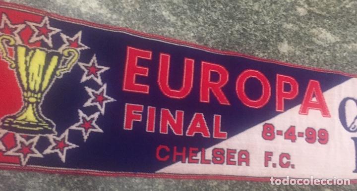Coleccionismo deportivo: Bufanda final re copa de Europa Mallorca-Chelsea - Foto 10 - 176435717