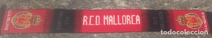 BUFANDA RCD MALLORCA 152X15CM (Coleccionismo Deportivo - Ropa y Complementos - Complementos deportes)