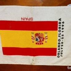 Coleccionismo deportivo: TOALLA SPAIN ORLANDO FLORIDA JULY 20-25 1996. Lote 178708051