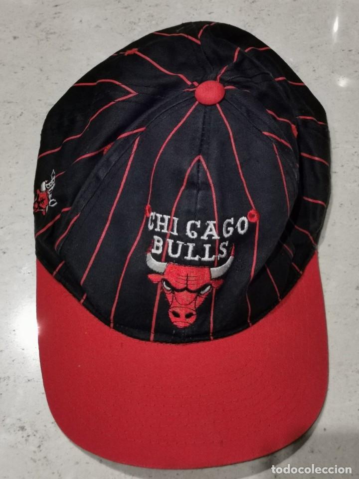 Coleccionismo deportivo: Gorra Chicago Bulls Años 80 - Foto 5 - 107091466