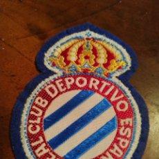 Collectionnisme sportif: PARCHE ESCUDO BORDADO R C D ESPANYOL ESPAÑOL. Lote 182888012