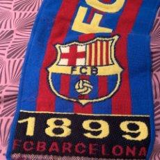 Coleccionismo deportivo: BUFANDA FC BARCELONA. Lote 185917706