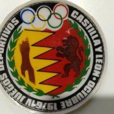 Coleccionismo deportivo: ESCUDO JUEGOS DEPORTIVOS 1976 CASTILLA Y LEON. Lote 188601826