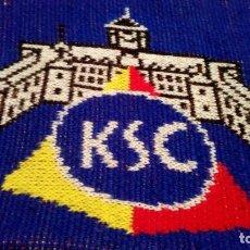 Coleccionismo deportivo: BUFANDA KARLSRUHER SC, (EXCLUSIVA EN TC). Lote 192743845