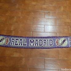 Coleccionismo deportivo: BUFANDA FÚTBOL REAL MADRID (TEMPORADA 94-95). Lote 193430560