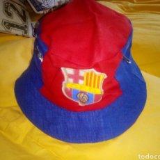 Coleccionismo deportivo: ANTIGUO GORRO FÚTBOL. FC BARCELONA. AÑOS 60. Lote 193790347