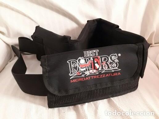 Coleccionismo deportivo: Cinturón de buceo con 5 bolsillos marca Best Divers - Foto 2 - 194146056