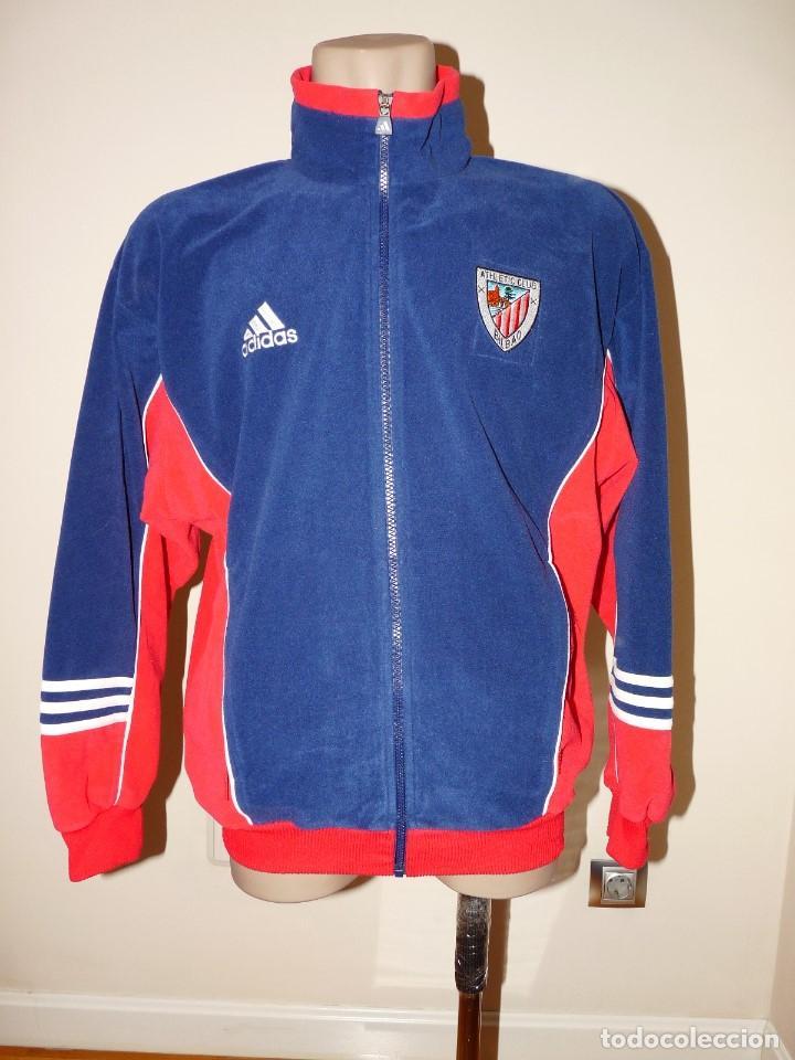 CHAQUETA AHTLETIC CLUB DE BILBAO ADIDAS (Coleccionismo Deportivo - Ropa y Complementos - Complementos deportes)