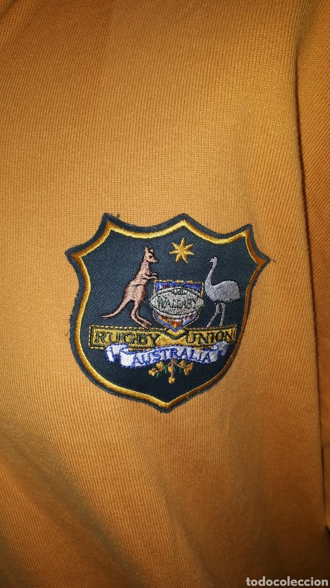 Coleccionismo deportivo: Polo original SELECCION AUSTRALIANA DE RUGBY IRB RUGBY WORLD CUP 2003 TALLA XL - Foto 2 - 196329088