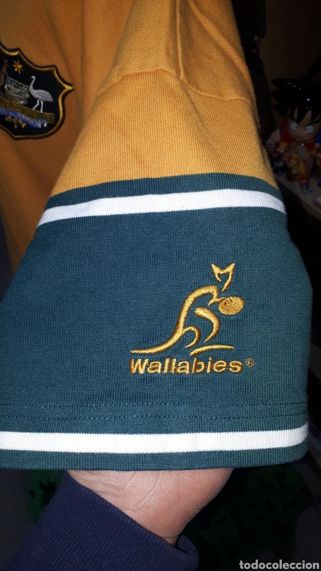 Coleccionismo deportivo: Polo original SELECCION AUSTRALIANA DE RUGBY IRB RUGBY WORLD CUP 2003 TALLA XL - Foto 4 - 196329088