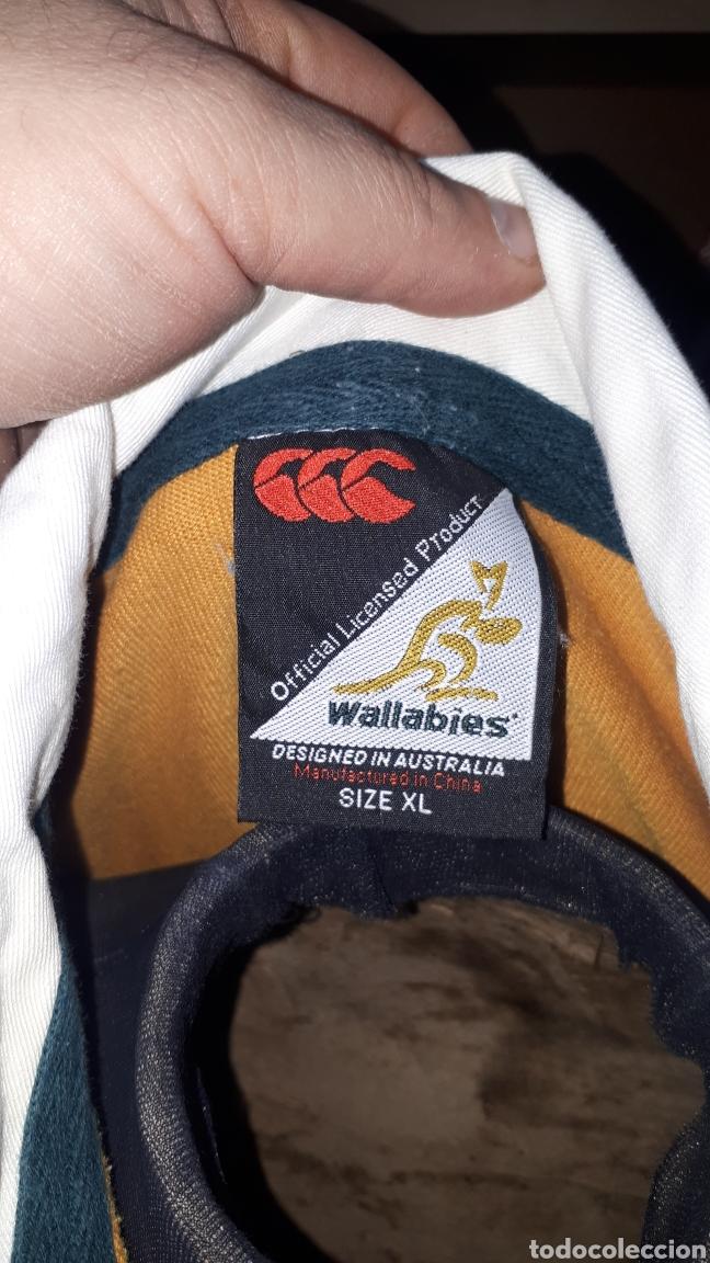 Coleccionismo deportivo: Polo original SELECCION AUSTRALIANA DE RUGBY IRB RUGBY WORLD CUP 2003 TALLA XL - Foto 5 - 196329088