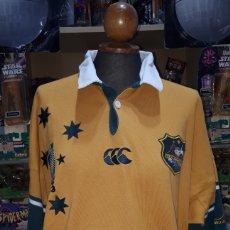 Coleccionismo deportivo: POLO ORIGINAL SELECCION AUSTRALIANA DE RUGBY IRB RUGBY WORLD CUP 2003 TALLA XL. Lote 196329088