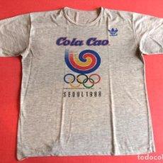 Coleccionismo deportivo: CAMISETA COLA CAO SEOUL 88 J.J.O.O. SEUL 1988. Lote 197340215