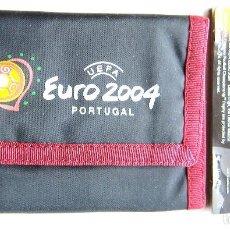 Coleccionismo deportivo: CARTERA BILLETERO UEFA EURO 2004 PORTUGAL EURCOPA NACIONES OFICIAL SIN USAR NUEVO. Lote 198313195
