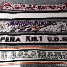 Coleccionismo deportivo: LOTE BUFANDAS UNION DEPORTIVA SALAMANCA. Lote 198575992