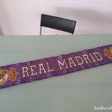 Coleccionismo deportivo: BUFANDA REAL MADRID AÑOS 90. Lote 199487178