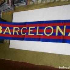 Coleccionismo deportivo: BUFANDA F.C BARCELONA. Lote 199792696