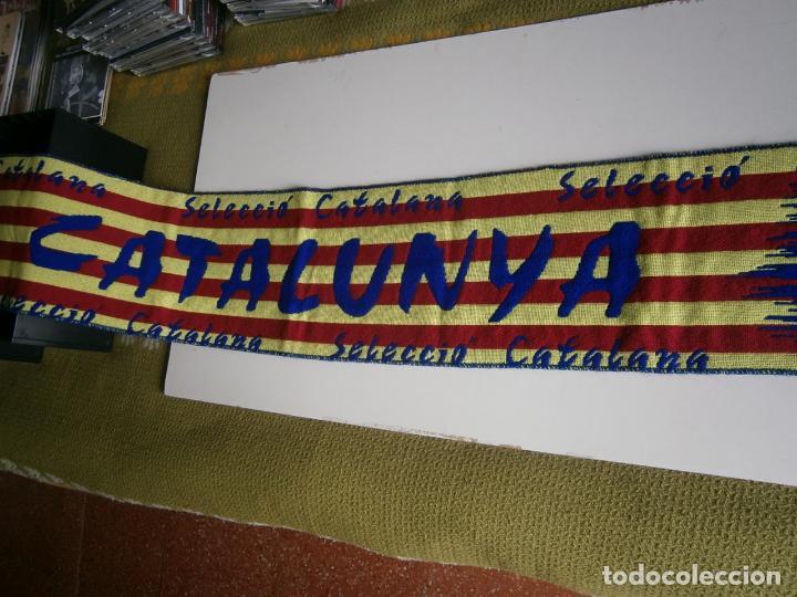 BUFANDA CATALUNYA (Coleccionismo Deportivo - Ropa y Complementos - Complementos deportes)