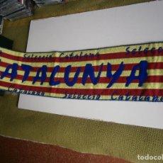 Coleccionismo deportivo: BUFANDA CATALUNYA. Lote 199792792