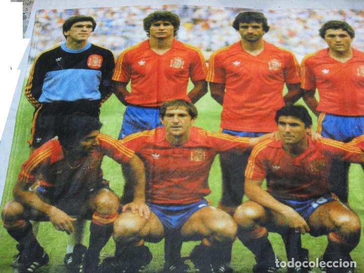 Coleccionismo deportivo: TOALLA SELECCIÓN ESPAÑOLA DE FUTBOL DE ESPAÑA 82 - Foto 2 - 218935060