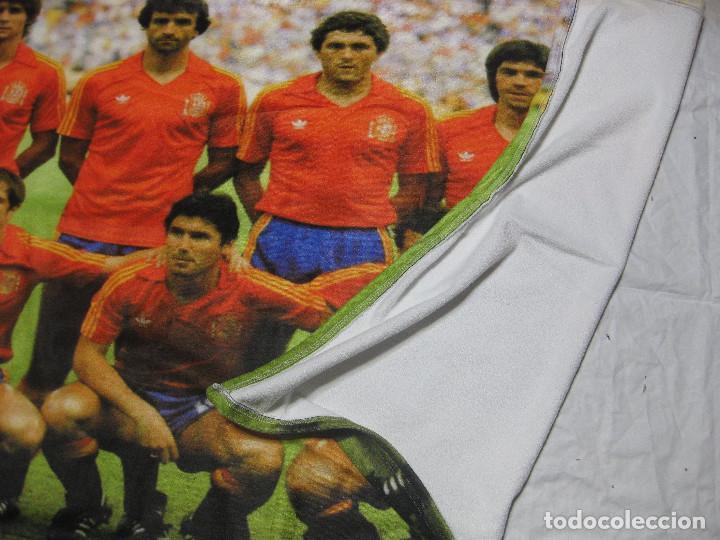 Coleccionismo deportivo: TOALLA SELECCIÓN ESPAÑOLA DE FUTBOL DE ESPAÑA 82 - Foto 4 - 218935060