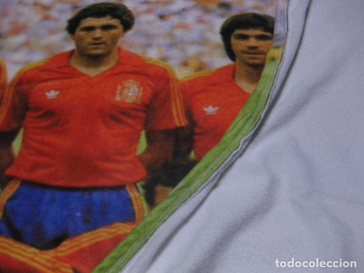 Coleccionismo deportivo: TOALLA SELECCIÓN ESPAÑOLA DE FUTBOL DE ESPAÑA 82 - Foto 5 - 218935060