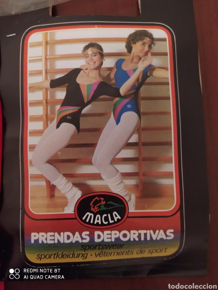 Coleccionismo deportivo: Prenda deportiva vintage MACLA, talla 6 original años 80 sin usar - Foto 3 - 200295205