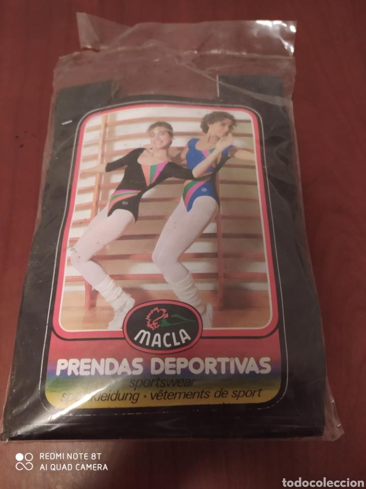 Coleccionismo deportivo: Prenda deportiva vintage MACLA, talla 6 original años 80 sin usar - Foto 7 - 200295205