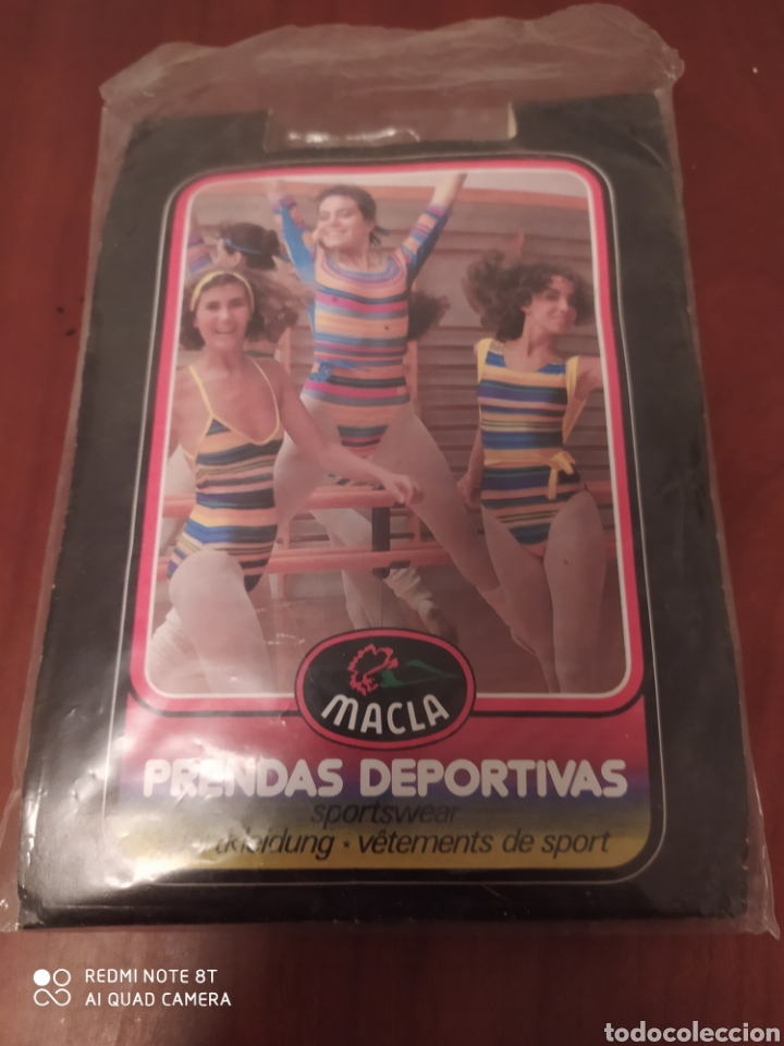 Coleccionismo deportivo: Prenda deportiva vintage MACLA, talla 4 original años 80 sin usar - Foto 3 - 200329082