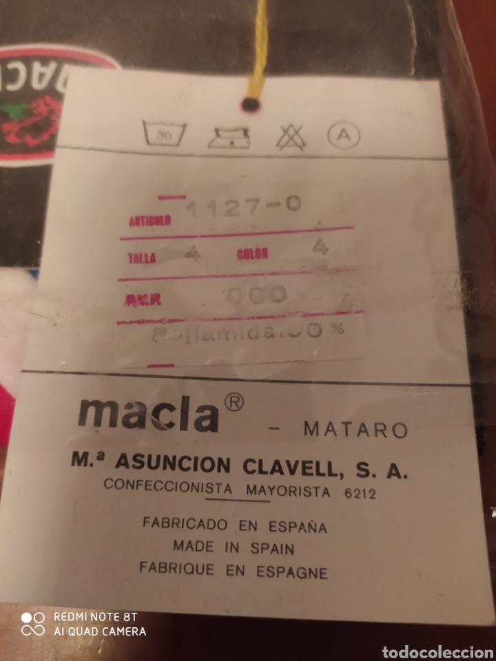 Coleccionismo deportivo: Prenda deportiva vintage MACLA, talla 4 original años 80 sin usar - Foto 4 - 200329082