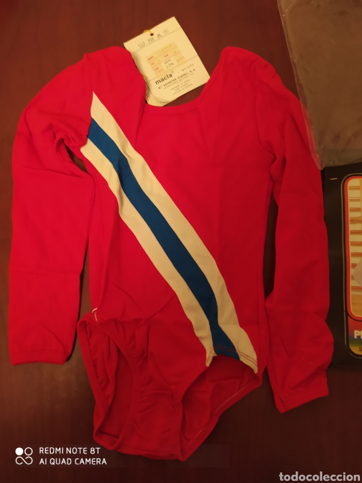 PRENDA DEPORTIVA VINTAGE MACLA, TALLA 4 ORIGINAL AÑOS 80 SIN USAR (Coleccionismo Deportivo - Ropa y Complementos - Complementos deportes)