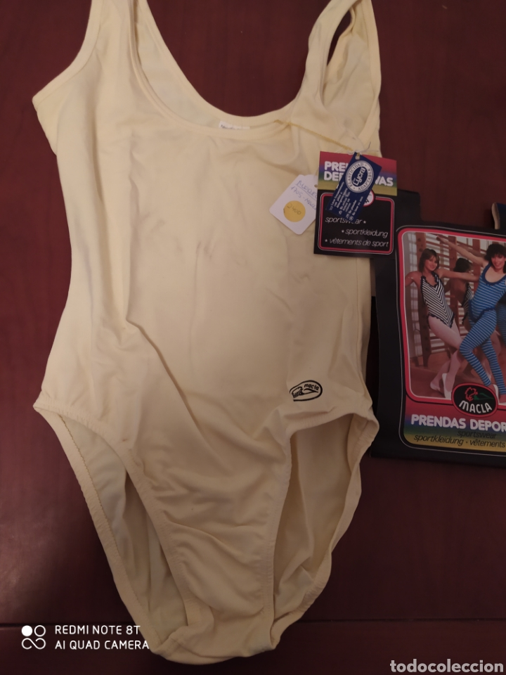 Coleccionismo deportivo: Prenda deportiva vintage MACLA, talla 42 original años 80 sin usar - Foto 2 - 200330705