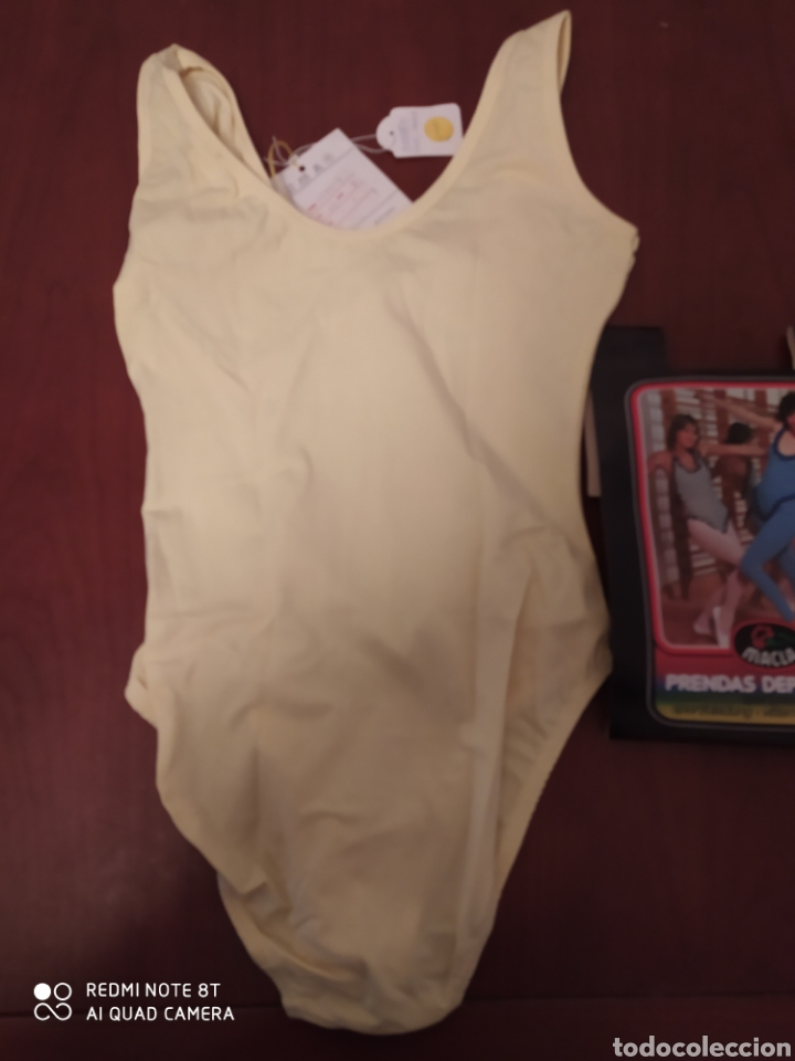 Coleccionismo deportivo: Prenda deportiva vintage MACLA, talla 42 original años 80 sin usar - Foto 7 - 200330705