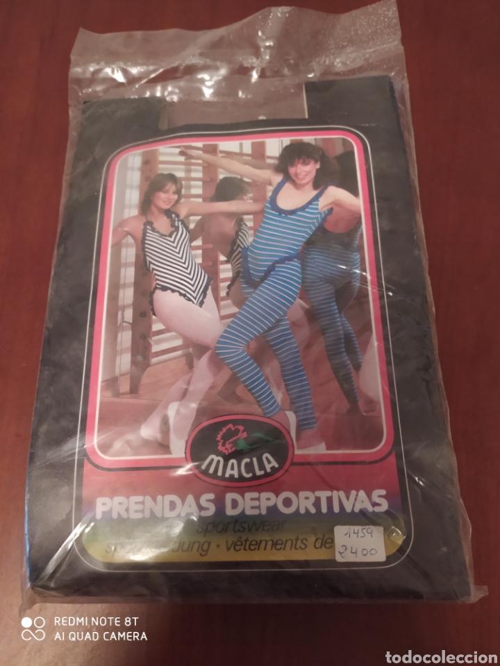 Coleccionismo deportivo: Prenda deportiva vintage MACLA, talla 42 original años 80 sin usar - Foto 9 - 200330705