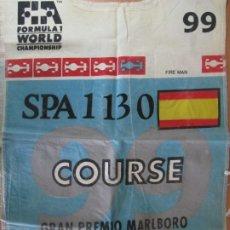 Coleccionismo deportivo: PETO GRAN PREMIO MARLBORO DE ESPAÑA 1999 CIRCUIT DE CATALUNYA FORMULA 1 WORLD CHAMPIONSHIP. Lote 202939385