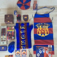 Coleccionismo deportivo: LOTE DE COSAS FÚTBOL CLUB BARCELONA. Lote 204202160