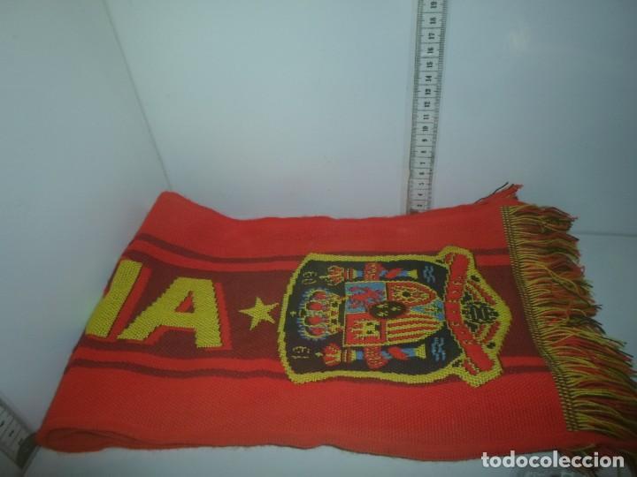 BUFANDA DE ESPAÑA (Coleccionismo Deportivo - Ropa y Complementos - Complementos deportes)
