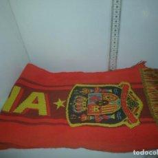 Coleccionismo deportivo: BUFANDA DE ESPAÑA. Lote 205533002