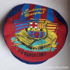 Coleccionismo deportivo: ANTIGUA GORRA TIPO BOINA CON VISERA. F.C BARCELONA. BARÇA. NUEVA. TALLA ADULTO. AÑOS 80. Lote 205672193