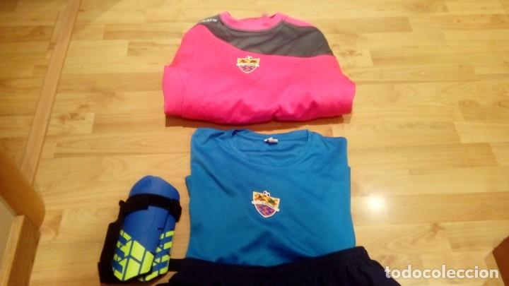 Coleccionismo deportivo: PACK EQUIPO CF ICOMAR (camiseta, sudadera, camiseta, calcetines y protecciones) - Foto 3 - 206280222