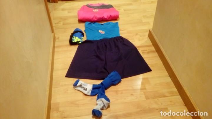 Coleccionismo deportivo: PACK EQUIPO CF ICOMAR (camiseta, sudadera, camiseta, calcetines y protecciones) - Foto 4 - 206280222