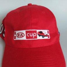 Coleccionismo deportivo: GORRA BORDADA KIA CUP CANARIAS AÑO 2007. NUEVA. Lote 206287052