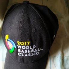 Coleccionismo deportivo: GORRA WORLD BASEBALL CLÁSIC 2017. Lote 206574895